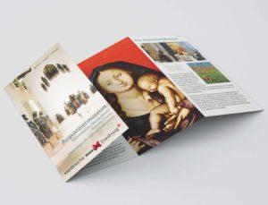 Printdesign Imageflyer - städtische Museen Freiburg