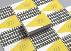 Stang Design- zoolo Wandgestaltung-Visitenkarten Spraydose