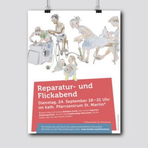 Lebensmittelpunkt Lebensmittelkollektiv Ettenheim Plakatdesign